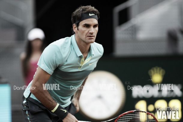 """Roger Federer: """"No puedo pensar en ganar el torneo de inmediato"""""""