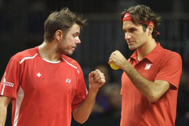 Federer y Wawrinka, pareja en Indian Wells