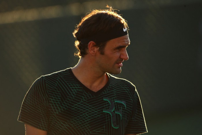Indian Wells 2017 - In campo Nadal, Djokovic e Federer