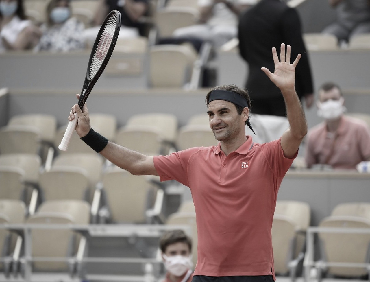 Tres partidos duró Roger Federer en Roland Garros