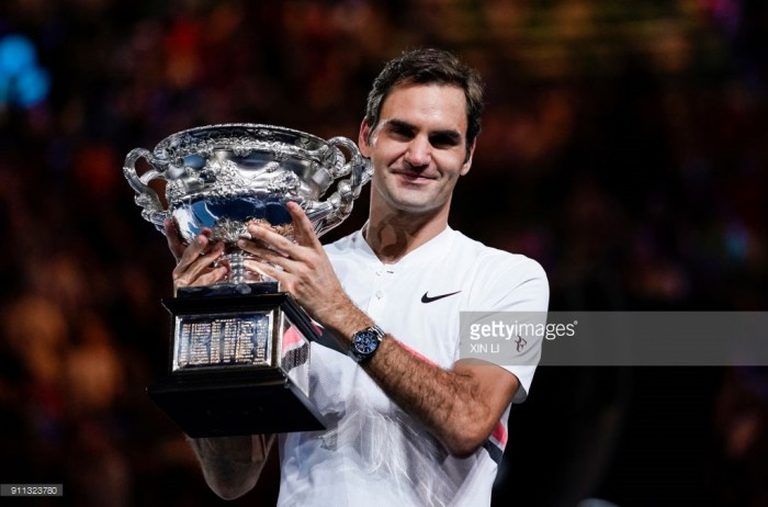 Roger Federer through to 30th grand-slam final after Chung Hyeon retires