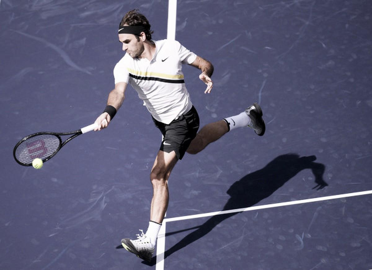 """Federer: """"Desearía jugar el tie break otra vez, no sé qué demonios me ha pasado"""""""