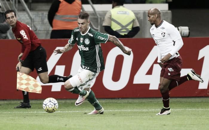 Em busca do G-4, Fluminense enfrenta líder Palmeiras em Brasília