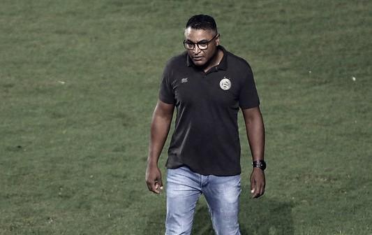 """""""Faltou jogar"""", lamenta Roger Machado após derrota do Bahia para Ceará"""
