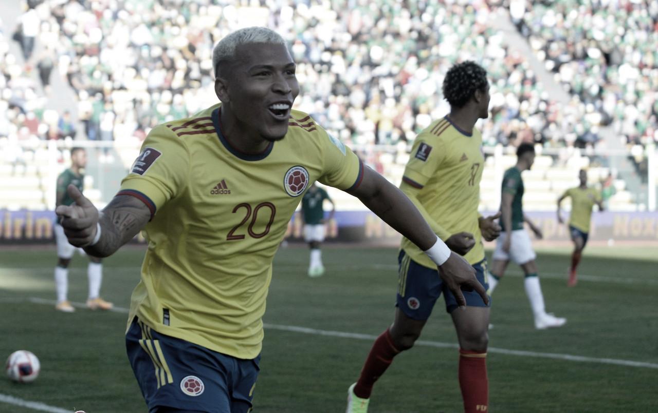 Roger Martínez, el mejor colombiano en el empate en La Paz