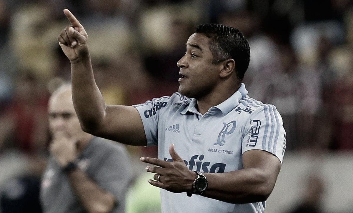 """Roger lamenta oportunidades perdidas em derrota do Palmeiras: """"A gente sai frustrado"""""""