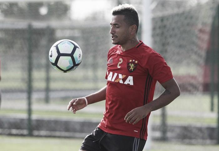 Rogério tem lesão na coxa direita diagnosticada e permanece fora do Sport