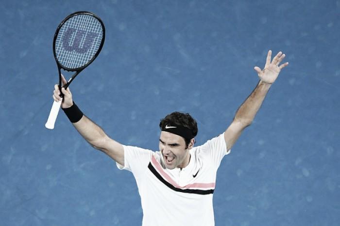Federer va deprisa