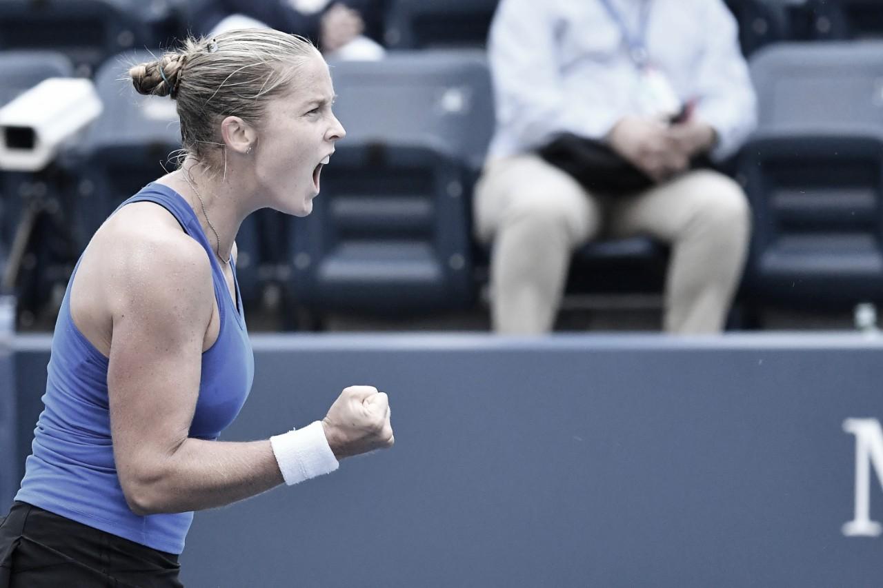 Rogers salva quatro match points, surpreende Kvitova e avança no US Open