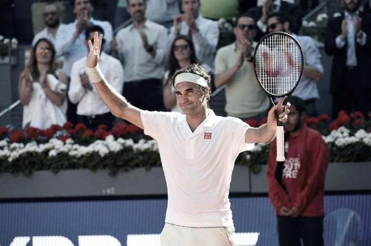 Comienzo arrollador de Federer en Roma