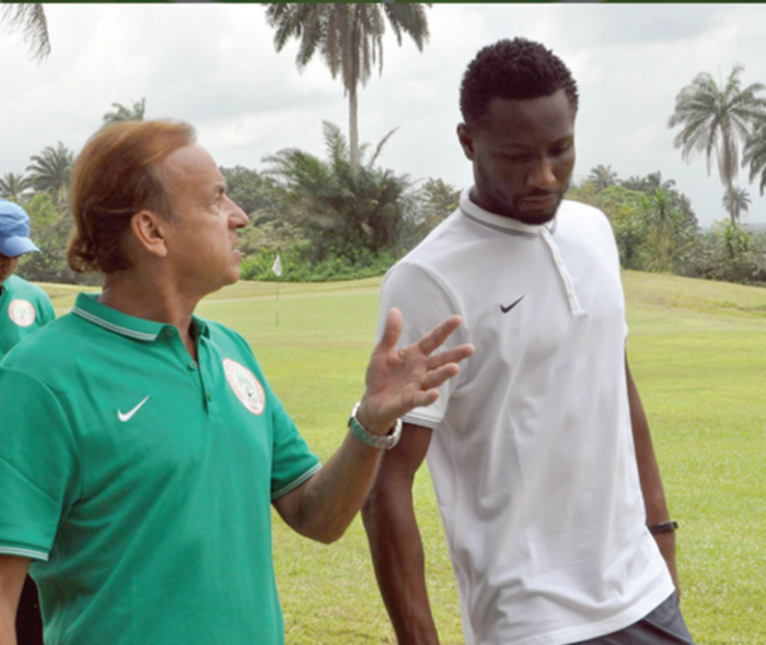 Mikel Obi: Rohr brings discipline, focus to Eagles