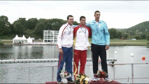 Roi Rodríguez se proclama campeón de Europa sub-23 en K-1 1000 metros