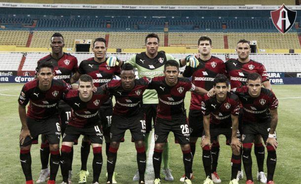 Atlas adquirió un mal inicio en la Liga MX
