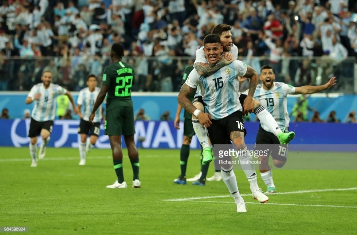 Nigeria 1-2 Argentina: Late Rojo strike sees Albiceleste edge into last-16