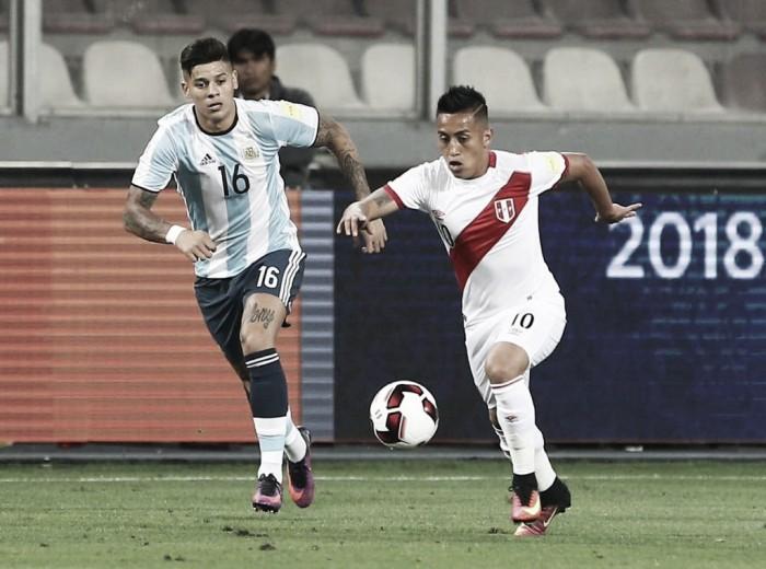 Perú logra trabajado empate ante Argentina antes de enfrentar a
