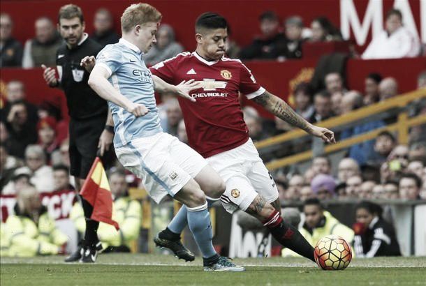 van Gaal impressed with Rojo's performance in Manchester Derby