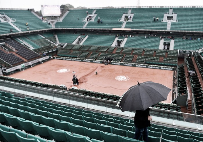 French Open 2016: Day nine at Roland Garros abandoned due to rain
