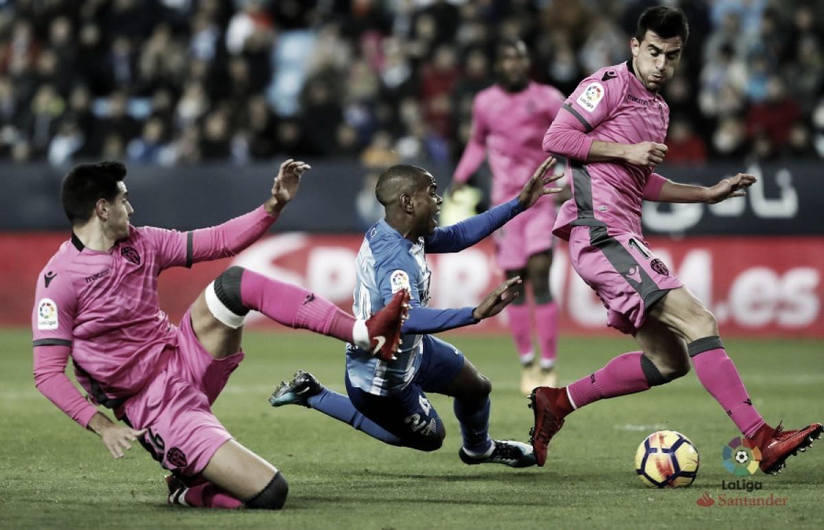 Resultados históricos entre Málaga CF y Levante UD