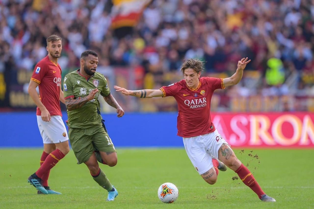 Serie A - Il Cagliari frena la Roma: all'Olimpico è 1-1