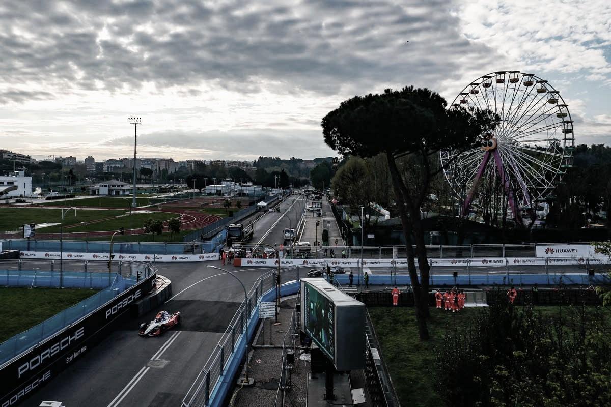 Circuito de Rua de Roma é eleito o melhor da Fórmula E pelos pilotos