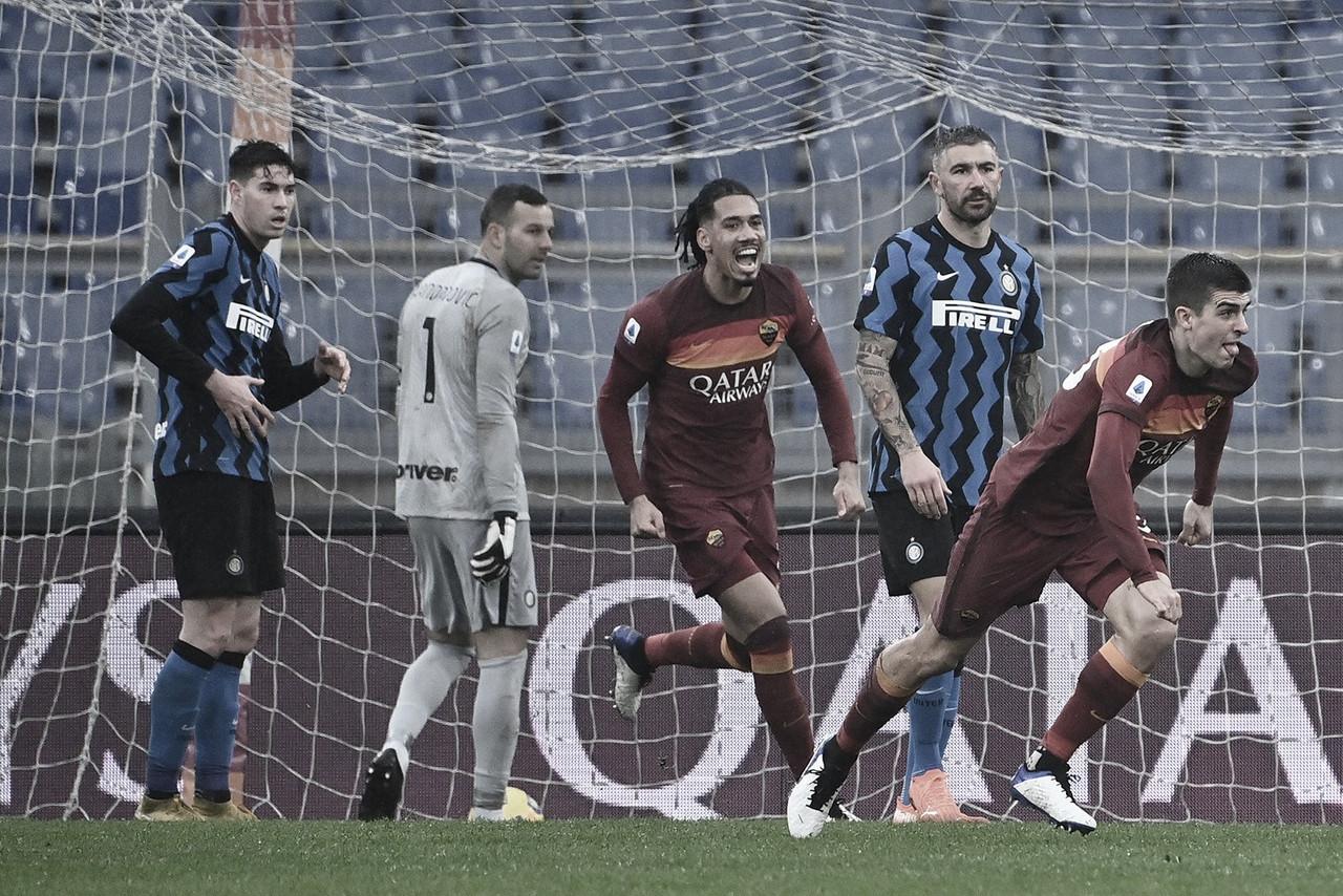 Roma e Internazionale lutam por vitória até último momento, mas prevalece empate no clássico