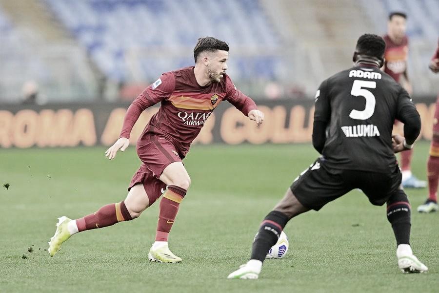 Borja Mayoral marca e dá vitória à Roma contra Bologna