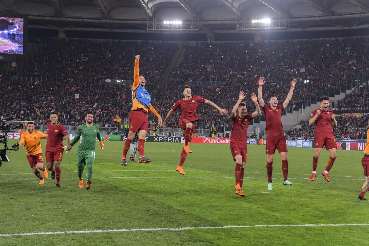 Roma, dopo il Barça c'è la Lazio
