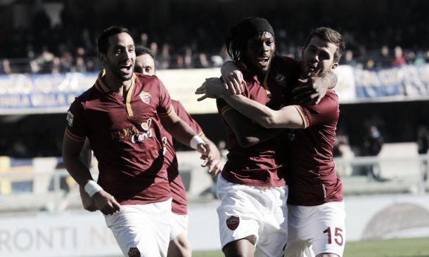 Roma vence Verona e se aproxima da liderança da Serie A