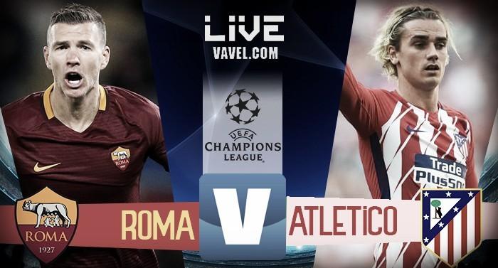 Resultado Roma x Atlético de Madrid pela Uefa Champions League 2017/18 (0-0)