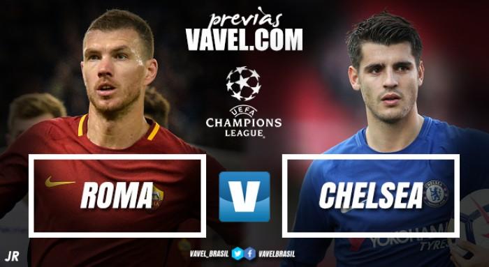 No Olímpico, Roma e Chelsea fazem tira-teima pela liderança do Grupo C