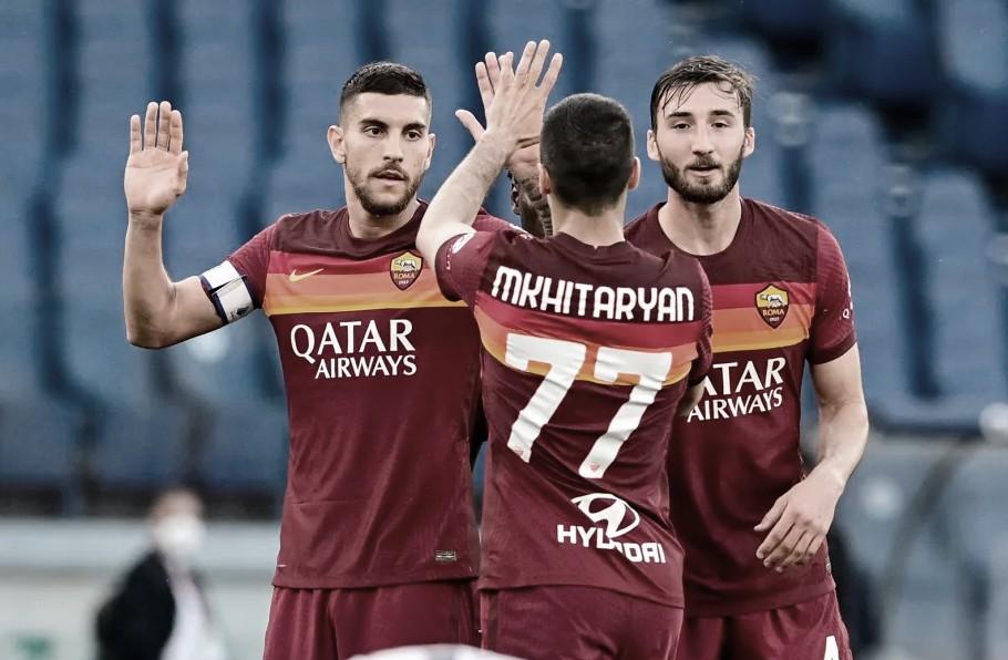 À espera de Mourinho, Roma goleia lanterna Crotone pelo Campeonato Italiano