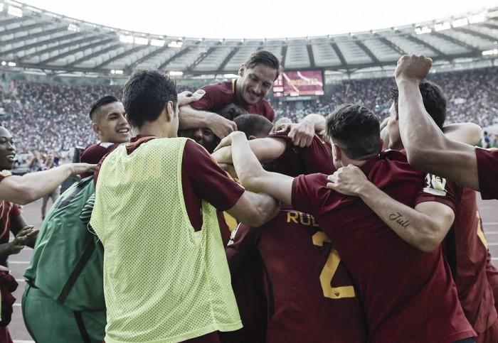 La Roma vola in Champions e saluta Totti! 3-2 al Genoa