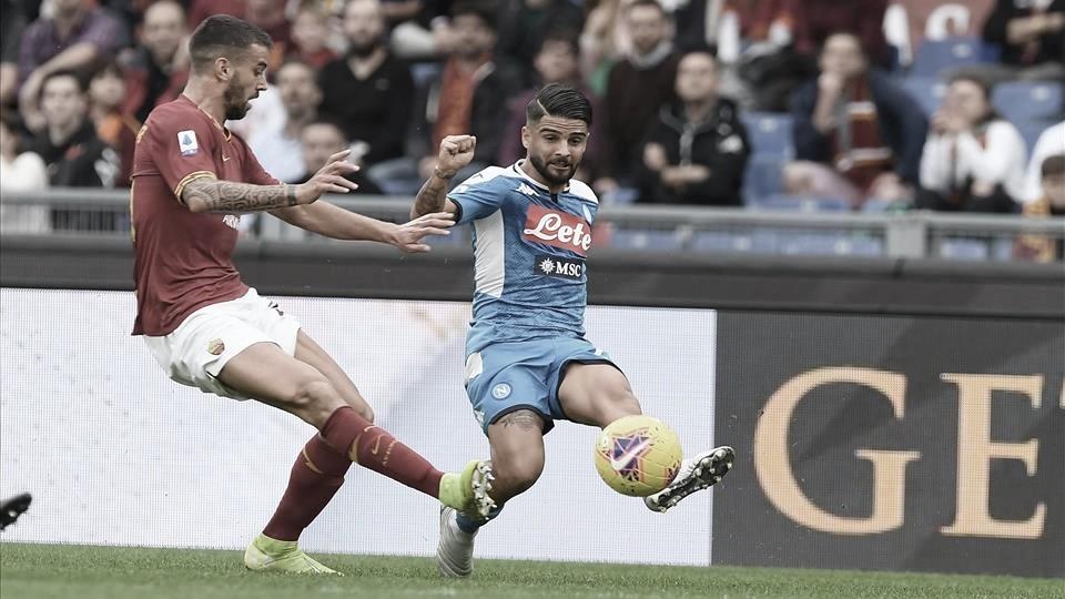 Napoli e Roma fazem 'clássico poético' pelo Campeonato Italiano