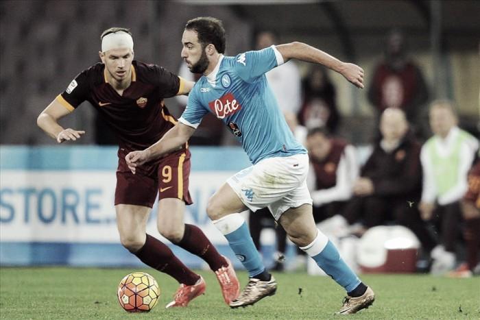 Partita Roma-Napoli in Serie A 2016 (1-0)
