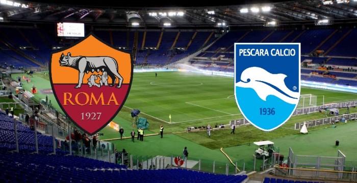 Roma-Pescara, le formazioni ufficiali