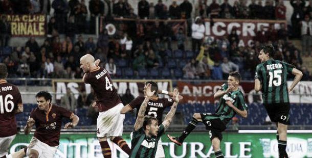 Diretta partita Roma - Sassuolo, risultati live di Serie A