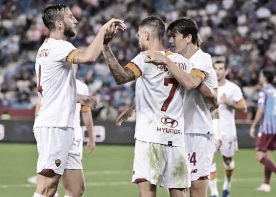 Em dia dos estreantes, Roma supera Trabzonspor e aproxima da fase de grupos