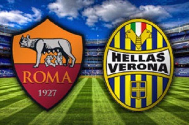 Live Roma vs Verona, Diretta Serie A
