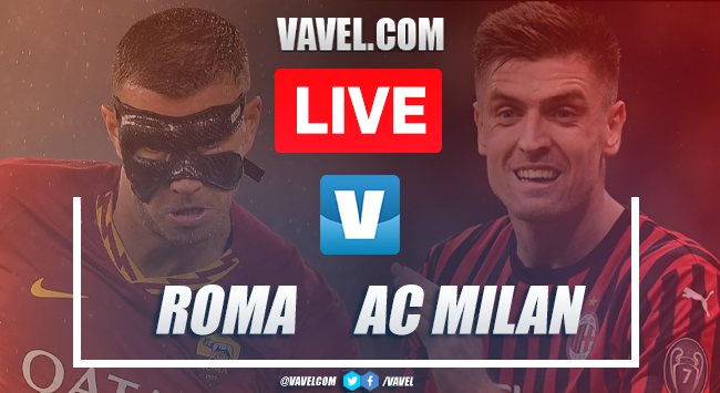 Roma vs AC Milan: LIVE Stream Online and Score Updates