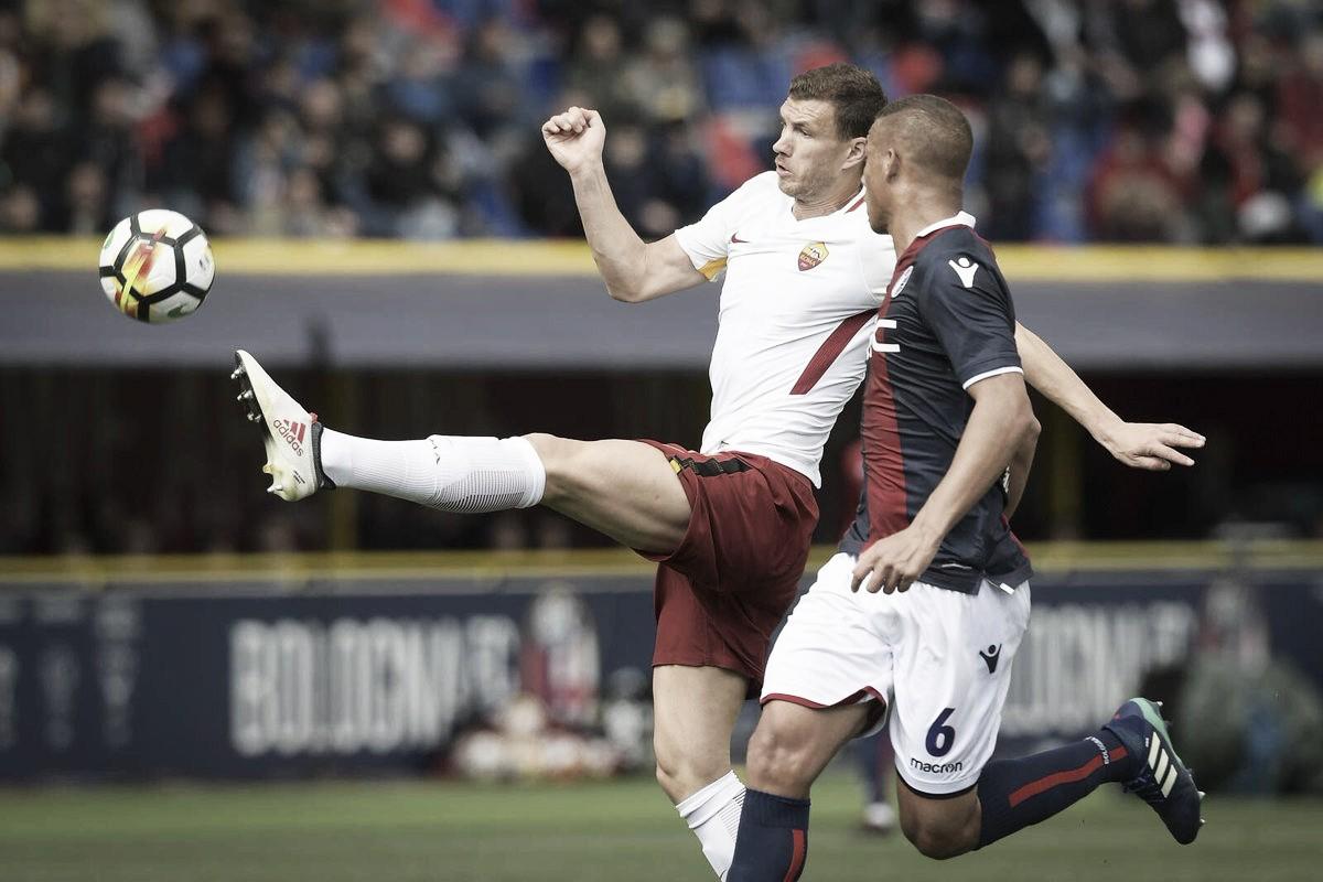 Roma fica no empate contra Bologna, e Di Francesco já projeta jogo contra Barça