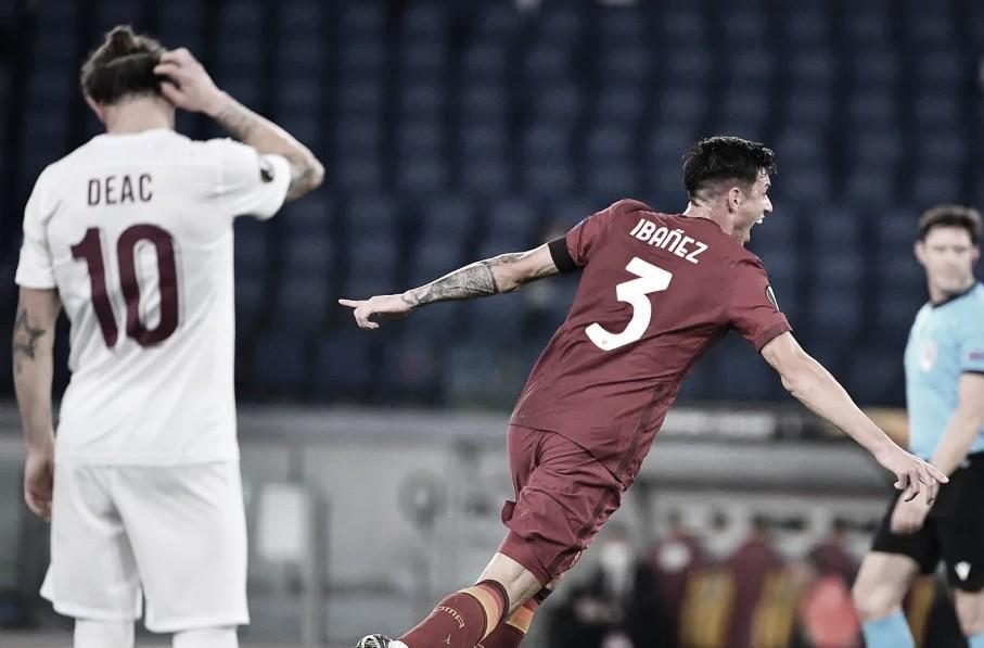 Em ritmo de treino, Roma domina Cluj e se isola como líder do grupo A na Europa League