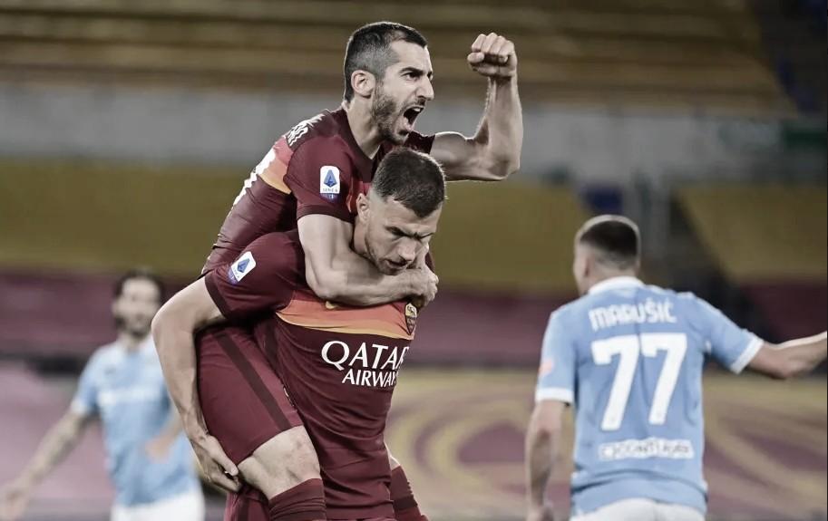 Dzeko brilha e conduz vitória da Roma no clássico contra Lazio
