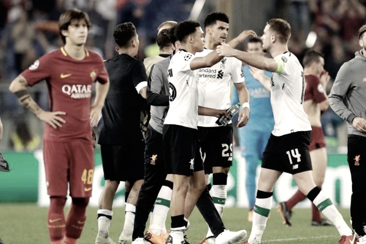Ultimas Reacciones del AS Roma - Liverpool FC
