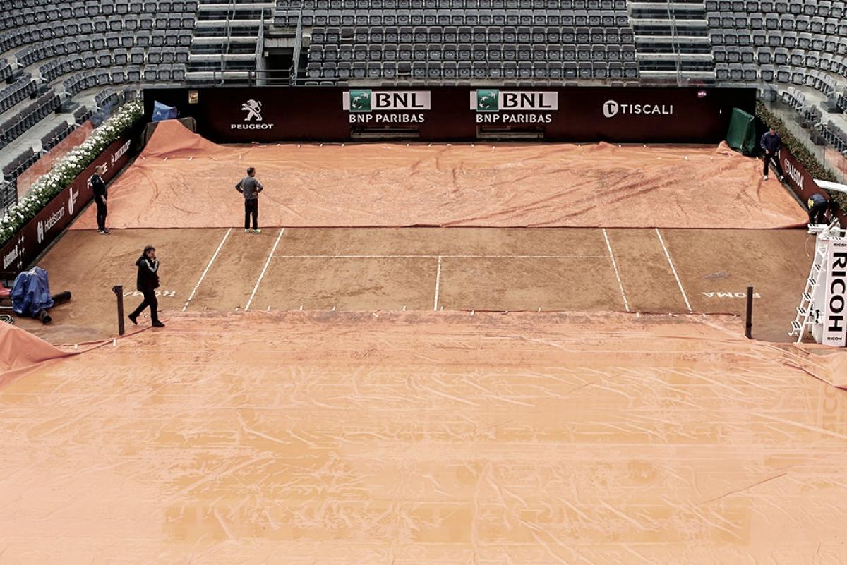 Una nueva jornada en Roma con lluvia y alegría argentina