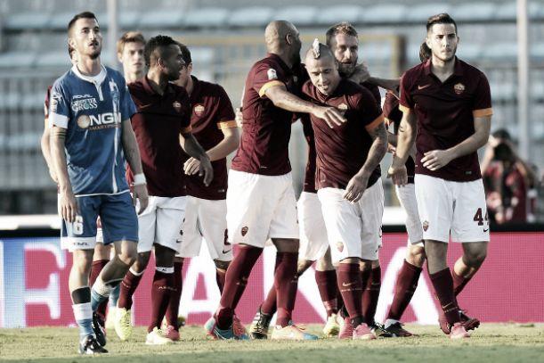Diretta Roma - Empoli, risultati live della Coppa Italia