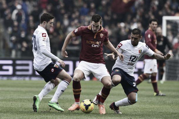 Diretta Genoa - Roma, risultati live Serie A