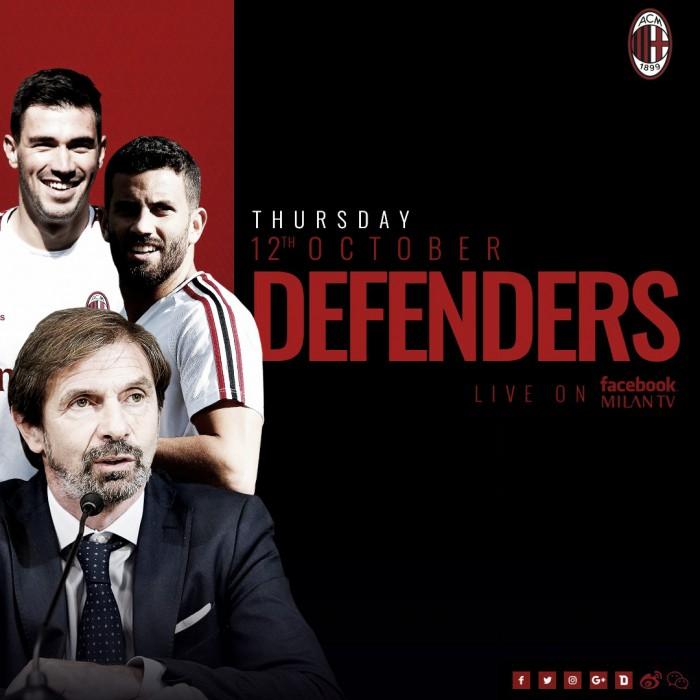 Serie A - Il Milan verso il derby: la carica di Romagnoli e Musacchio