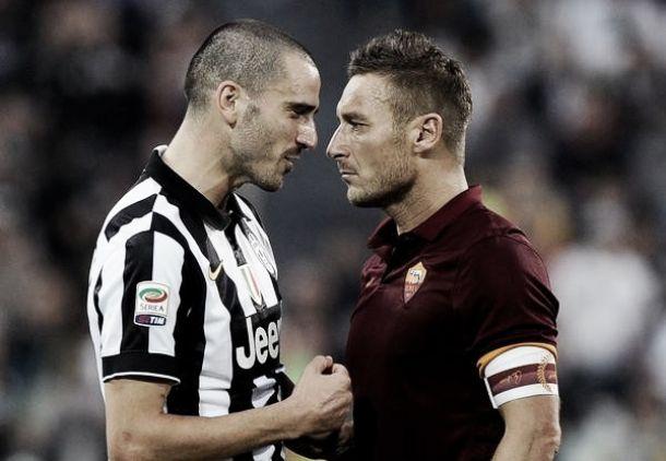 Diretta partita Roma - Juventus, risultati live di Serie A