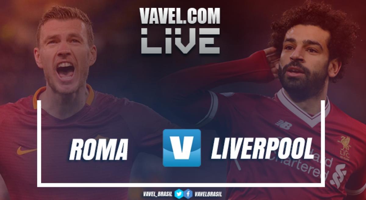 Resultado Roma x Liverpool na semifinal da Uefa Champions League (4-2)