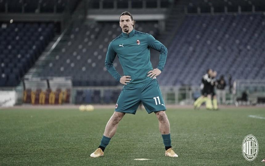 Machucado, Ibrahimovic desfalca Milan por duas semanas